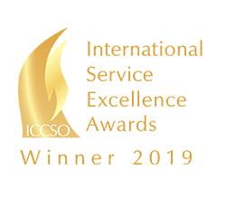 International Service Excellence Awards Winner 2019 logo