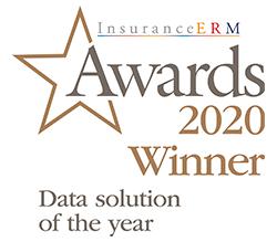 InsuranceERM Awards 2020 Winner Data solution of the year logo