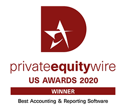 private equity wire - US Awards 2020 - Winner - Best Accounting & Reporting Software
