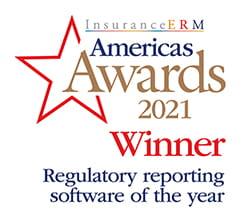 InsuranceERM Americas Awards 2021 Winner - Regulatory reporting software of the year