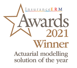 InsuranceERM Awards 2021 Winner - Actuarial modelling solution of the year