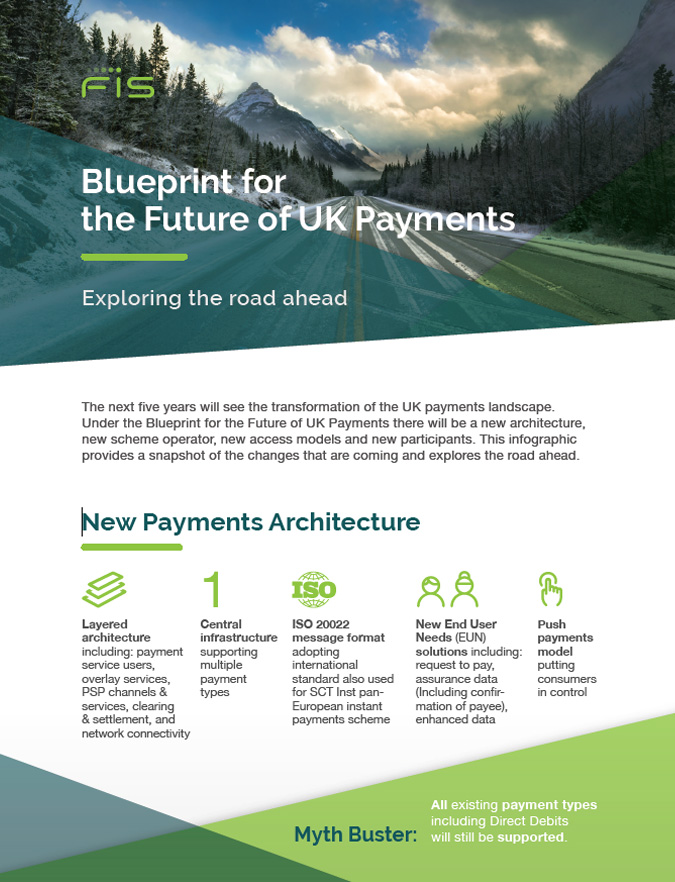 Blueprint for the Future of UK Payments Infographic Cover Image