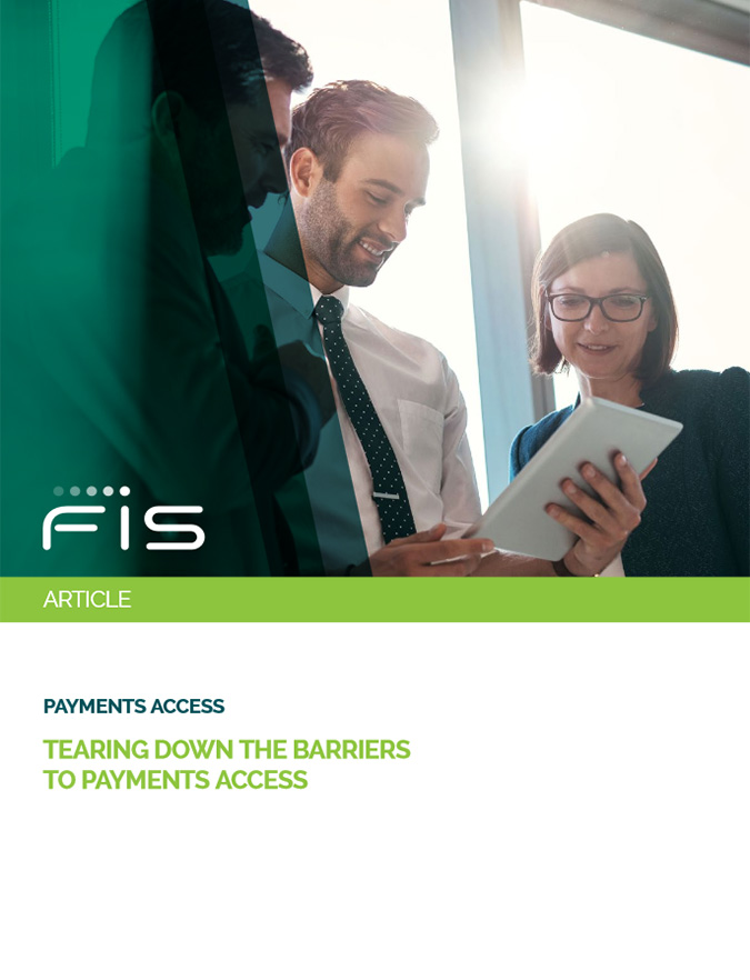Tearing Down the Barriers to Payments Access Cover Image
