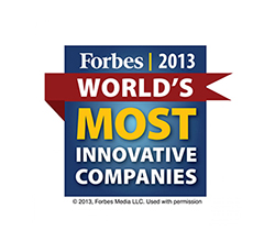 FIS win award worlds 100 most innovative companies list 2013 logo