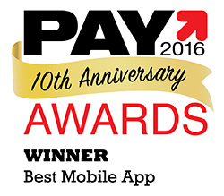 FIS wins pay 2016 best mobile app award