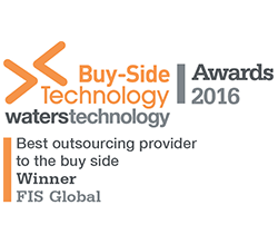 FIS wins waterstechnology awards 2016 best outsourcing provider to the buy side