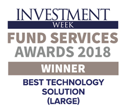 FIS wins Investment Week Fund Services Awards 2018