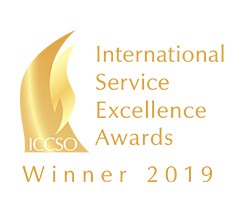 International Service Excellence Awards Winner 2019 logo