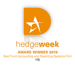 FIS wins Hedgeweek Award Winner 2019 logo