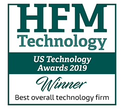 FIS wins HFM Technology US Technology Awards 2019 logo