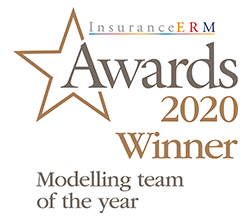 InsuranceERM Awards 2020 Winner Modelling team of the year logo