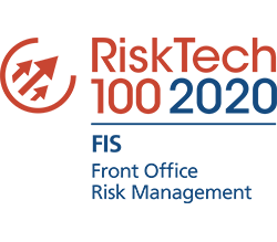 RiskTech 100 2020 | FIS - Front Office Risk Management logo